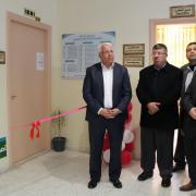 افتتاح لوحة شرف رئيس الجامعة في كلية تكنولوجيا المعلومات وهندسة الحاسوب