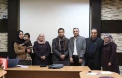 Palestine Polytechnic University (PPU) - جامعة بوليتكنك فلسطين تناقش رسالة ماجستير في برنامج المعلوماتية للطالبة سحر النتشة